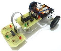 Çizgi izleyen robot projesi